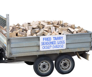1 cu dry seasoned hardwood logs
